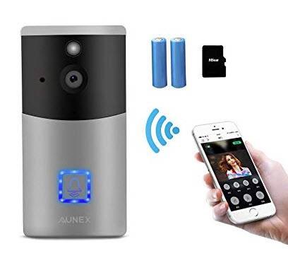 Video Doorbell AUNEX WiFi Doorbell Camera