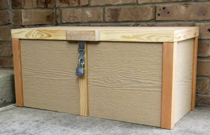 Lockable Porch Box