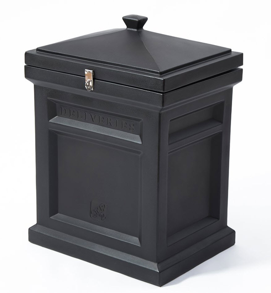 Step2 Deluxe Delivery Box Black